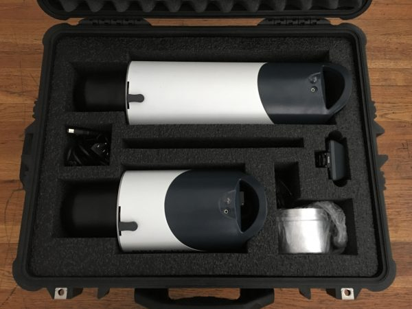 Custom PRIOLITE airline travel case for MBX1000 and ULTRA
