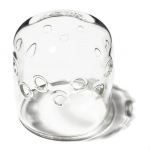 PRIOLITE glass dome clear