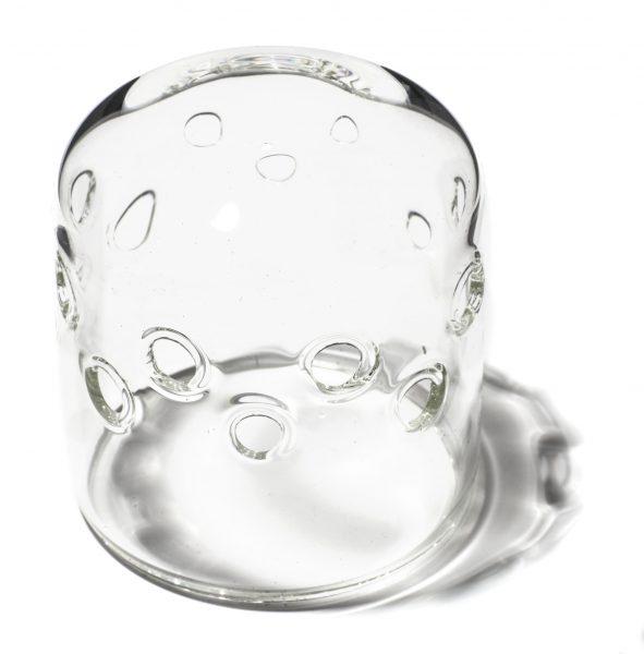 PRIOLITE glass dome clear